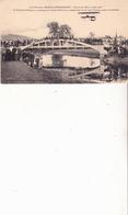 Pont Frontière MONCEL-PETTONCOURT-Circuit De L'Est-10 Août 1910-Le Lieutenant FEQUANT Accompagné Du Général Maunoury - Aviateurs