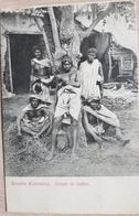 Colombia Goagira Grupo De Indios 1912 Send To Demark - Colombia