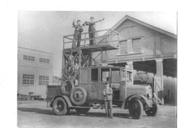 Merksem - Ladderwagen Van Den Tram (voor 1940) - Non Classés