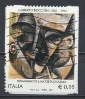 °°° ITALIA 2016 - UMBERTO BOCCIONI °°° - 6. 1946-.. Repubblica