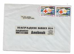 Macedonia RED CROSS In Par Stamp - Macedonia