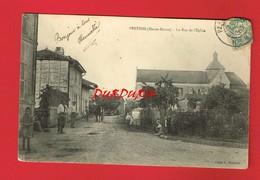 52 Haute Marne  PERTHES La Rue De L'Eglise - Other Municipalities