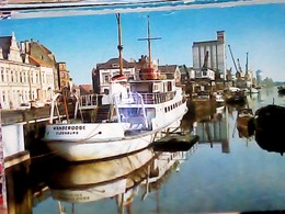 GERMANY DEUTSCHLAND OLDENBURG HAFEN  PORTO NAVE SHIP  WANGEOOGE  VB1974 HA8105 - Altri