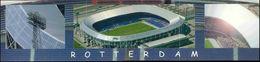 Netherlands, ROTTERDAM, Stadion Feyenoord Panorama (2010s) Stadium Postcard (2) - Voetbal