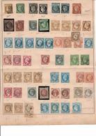 Série De Classiques Napoléon 6 Céres A Partir De 1860 Très Forte Côte Indiquer - Stamps
