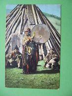Altai  Buryats 1910s  Altai Shaman. Types Of Altai Peoples. Russian Postcard. Russia - Rusland