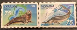 Ukraine,  2002, Mi: 530/31 (MNH) - Fische