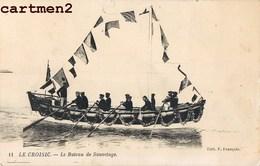 LE CROISIC LE BATEAU DE SAUVETAGE 44 LOIRE-ATLANTIQUE - Le Croisic