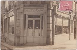 Carte Photo à Identifier Coiffure Maison Thibault Ou Thibaulte Paris XV, XVI, XVII Ou XVIII - Postcards