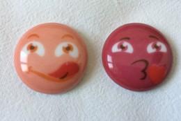 2 Feves Emotion Emoticone - Fèves