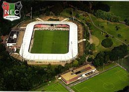 Netherlands, NIJMEGEN, McDos Goffertstadion NEC (1990s) Stadium Postcard - Voetbal