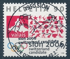 939 / 1639 Serie 1998 Mit ET-Vollstempel - Schweiz