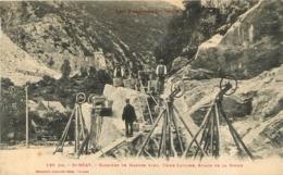 SAINT BEAT CARRIERE DE MARBRE  BLEU USINE LAVIGNE SCIAGE DE LA ROCHE - Frankreich