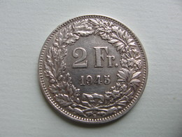 SUISSE    2   Francs  1945     Schweiz - Suisse
