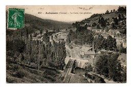 23 - AUBUSSON . LA GARE . VUE GÉNÉRALE - Réf. N°20591 - - Aubusson