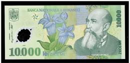 ROMANIA 10.000 / 10000 LEI  / ROMENIE P 112 UNC YEAR 2000 NOTE POLYMER - 017B5544440 - Rumänien