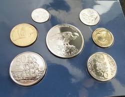 New Zealand 2006  5 10 20 50 C 1 2 5 $ Falcon Nova Zelandia Nuova Zelanda Nouvelle Zelande Minted 4000 Sets Only - Nouvelle-Zélande