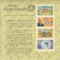 1980 British Virgin Islands Rotary International Souvenir Sheet  MNH - Iles Vièrges Britanniques