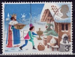 Great Britain, 1973, Chrstmas, 3p, Sc#713, Used - 1952-.... (Elizabeth II)