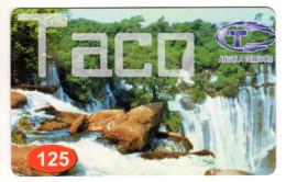 ANGOLA PREPAYEE ANGOLA TELECOM Année 2005 CHUTE DE KALANDULA - Angola
