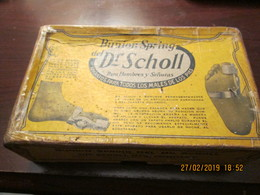 Dr. SCHOLL - BUNION SPRING - The SCHOLL MFG. COMPANY - Pat. March 11, 1913 - Made In Silveroid - USA - Matériel Médical & Dentaire