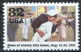 1995 Etats Unis USA United States MNH *** Military World War II Great Britain And America Celebrated V E Victory Day - WW2