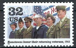 1995 Etats Unis USA United States MNH *** Military World War II America Honor The Service And Sacrifice Of Veterans - WW2