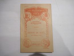 Les Classique Pour Tous Collection Etrangère Dickens (1812-1870) Conte De Noel Librairie Hatier N° 507 TBE - Libri, Riviste, Fumetti