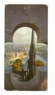 1966.CPSM. France. Paris Vu Des Tours De Notre-Dame. Etat Moyen. 1966. Circulé. - Kerken