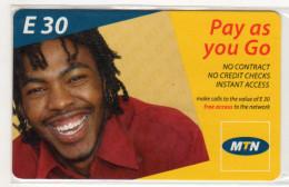 SWAZILAND PREPAYEE MTN E 30 - Swaziland
