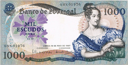 PORTUGAL - 1.000$00 (MIL ESCUDOS) CH.10- D.MARIA II.. - Portugal