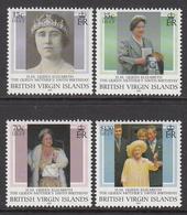 2000 British Virgin Islands Islands Queen Mother 100 Complete Set Of 4  MNH - Iles Vièrges Britanniques