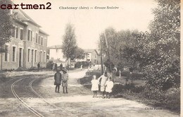 CHATENAY GROUPE SCOLAIRE ANIMEE 38 ISERE - Francia