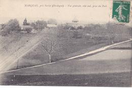 CPA 24 @ MARQUAY Près SARLAT - Vue Générale Côté Sud Prise Du Pech En 1912 @ Edition Dalbavie - France