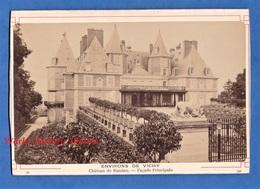 Photo Ancienne Avant Ou Vers 1900 - Prés VICHY - Château De RANDAN Façade Principale - Photographe à Identifier - Allier - Photos