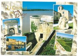 Blaye La Citadelle De Blaye Vue De La Gironde Depuis La Tour De L' Aiguillette La Porte Royale Photos Ivan Anger - Blaye