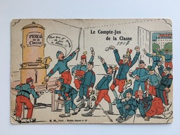 AK Le Compte Jus De La Classe 1907 Perco De La Classe Coffee Koffie - Casernas