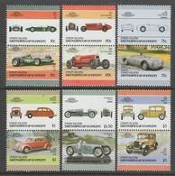 SERIE NEUVE DE SAINT-VINCENT-GRENADINES-UNION ISLAND - AUTOMOBILES (S9) - Cars