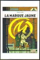 Carte Postale : Blake Et Mortimer - La Marque Jaune - Edgar P. Jacobs - Bandes Dessinées