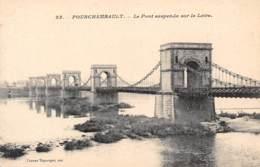 58 - FOURCHAMBAULT - Le Pont Suspendu Sur La Loire - Altri Comuni