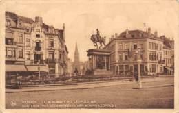 OOSTENDE - Het Gedenkteeken Aan Koning Leopold I - Oostende