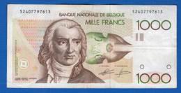 Belgique  1000 Fr - 1000 Francs