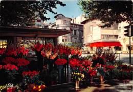 SAINT ETIENNE Le Marche Aux Fleurs De La Place Du Peuple 12(scan Recto-verso) MA2249 - Saint Etienne