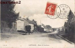 CATILLON ROUTE DE LANDRECIES 59 NORD - Frankreich