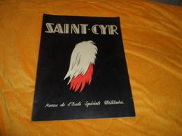 REVUE DE L'ECOLE SPECIALE MILITAIRE SAINT CYR NOEL 1951.. - Livres