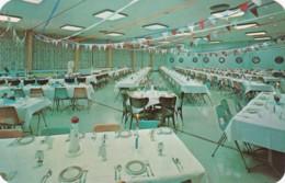 Berrien Springs Michigan, Andrews University Wolverine Room Campus Health Center, C1950s/60s Vintage Postcard - Etats-Unis