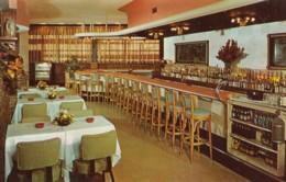 Detroit Michigan, Dyna Inn Restaurant And Bar Interior View, C1950s Vintage Postcard - Detroit