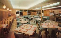 Detroit Michigan, Petco Bar-B-Q Barbeque Restaurant Interior View, C1950s Vintage Postcard - Detroit