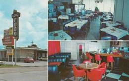 Hattiesburg Mississippi, Speed's Restaurant Interior, Ford Mustang Auto, C1970s Vintage Postcard - Hattiesburg