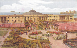 R175693 Winter Gardens And Pavilion. Weston Super Mare. Salmon. A. R. Quinton - Cartes Postales